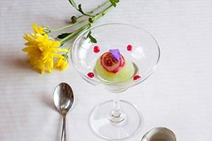 Ginger Lemongrass Tea Sorbet